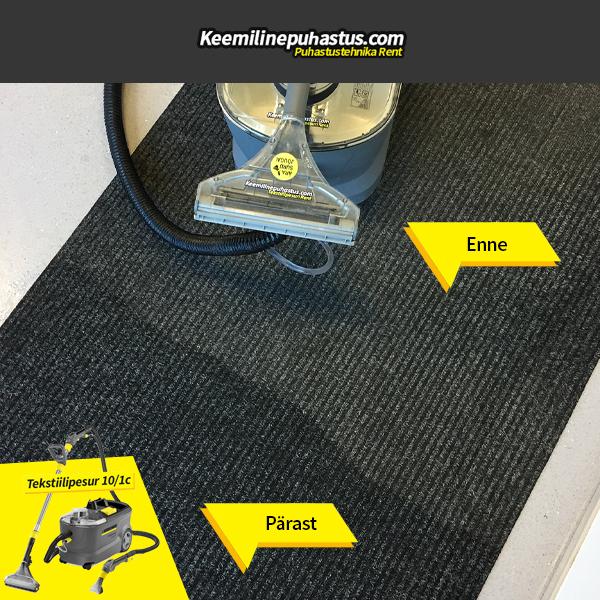 põrandate puhastus